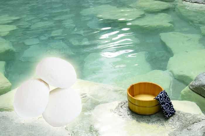 山形蔵王温泉湯の花