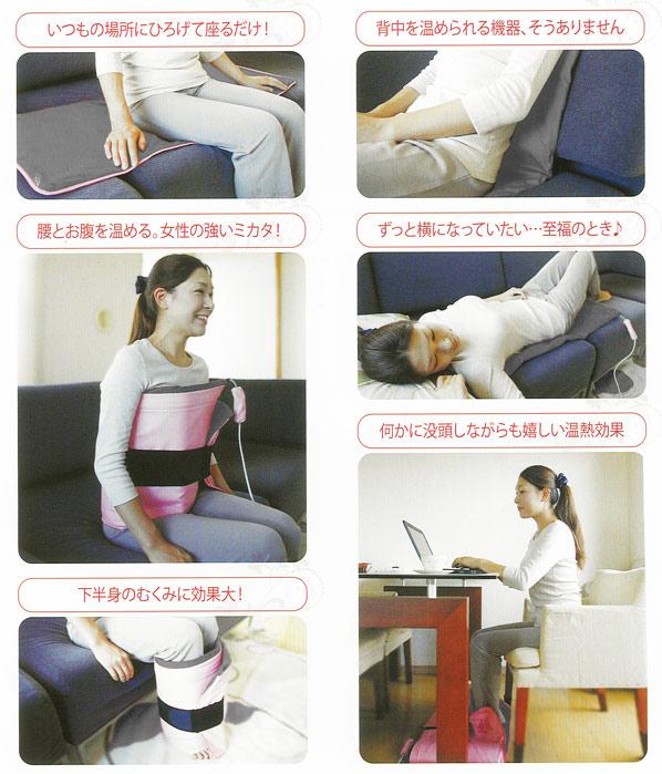 三井温熱CAONの使用法