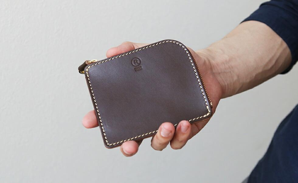 薄マチL字財布