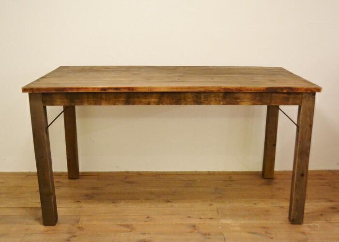 ダイニングテーブルJH古材でできたカフェ風なダイニングテーブル☆
