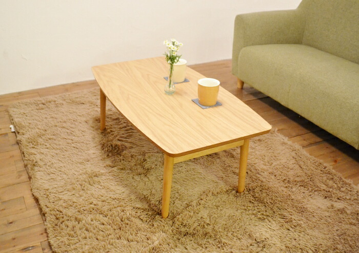 こたつテーブルEL90OAK通年使用