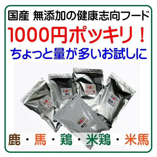 愛犬ワンダフル1000円ポッキリセット!
