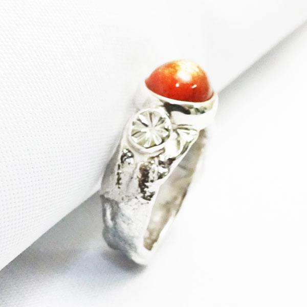 溶解シルバー メルティング アームリング 指輪