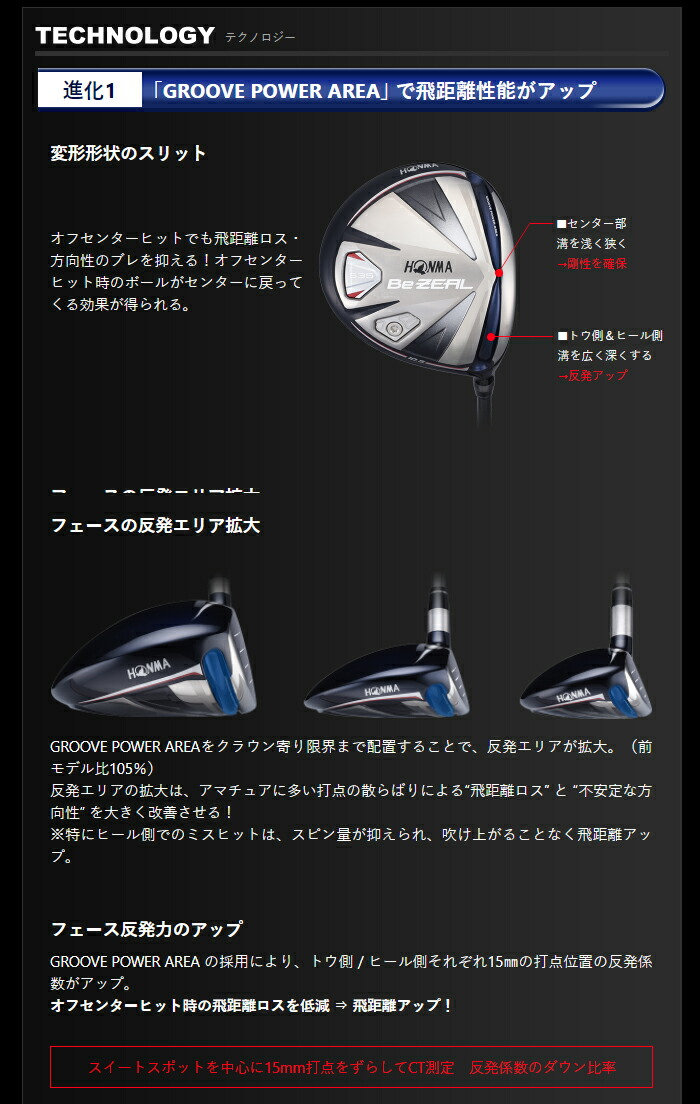 本間ゴルフ ホンマゴルフ ビジール535 BeZeal ドライバー ゴルフ クラブ