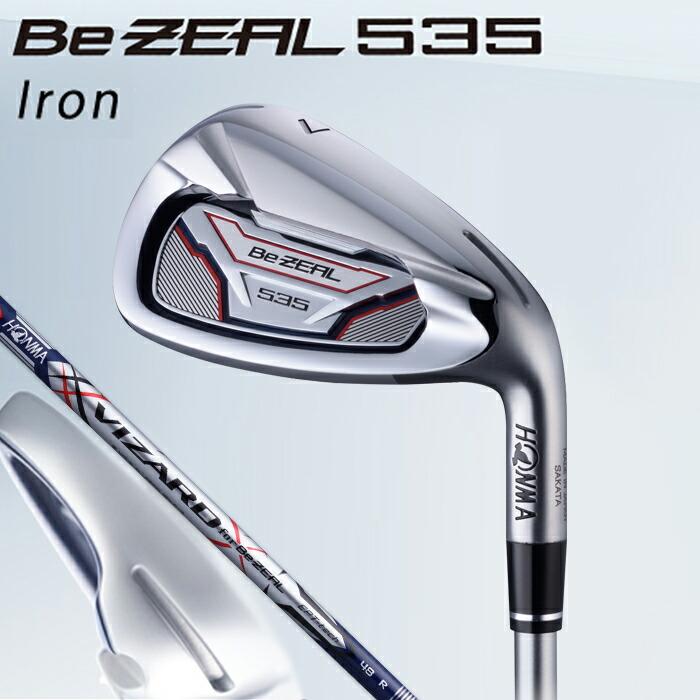 本間ゴルフ ホンマゴルフ ビジール535 BeZeal アイアン ゴルフ クラブ