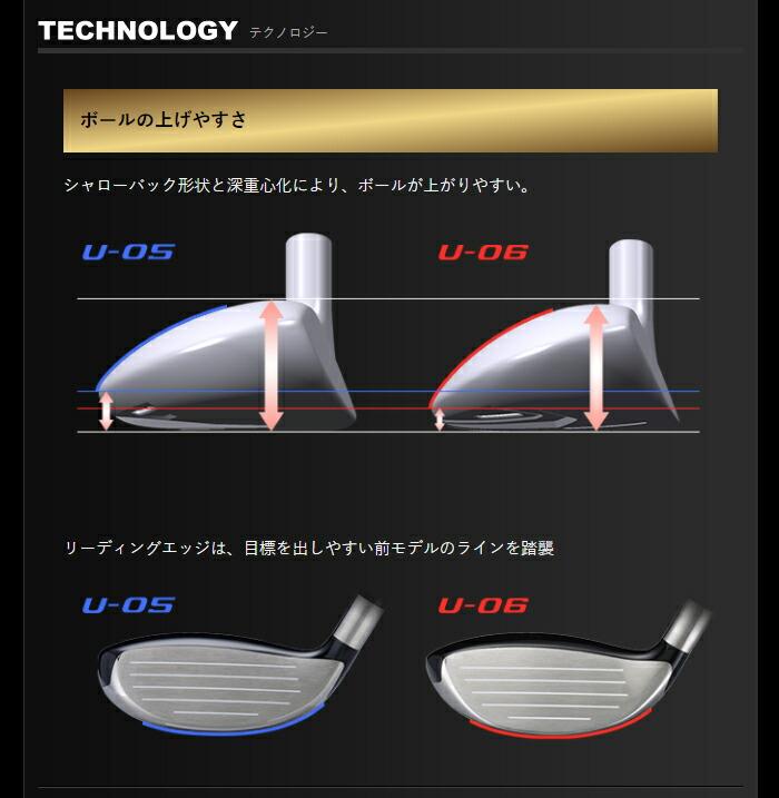 本間ゴルフ ホンマゴルフ ベレス S-06 BERES ユーティリティー ゴルフ クラブ