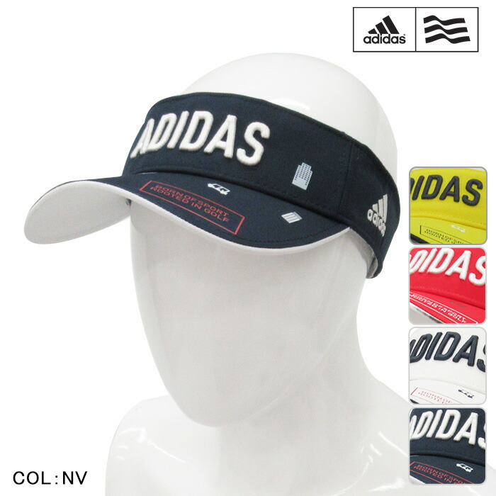 powergolf  adidas golf Adidas golf visor MENS men CCR68 model visor ... 58dd8e7d6e7