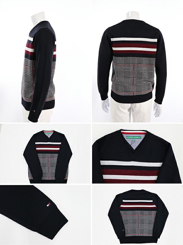トミーヒルフィガー  メンズ セーター 秋冬 ゴルフウェア