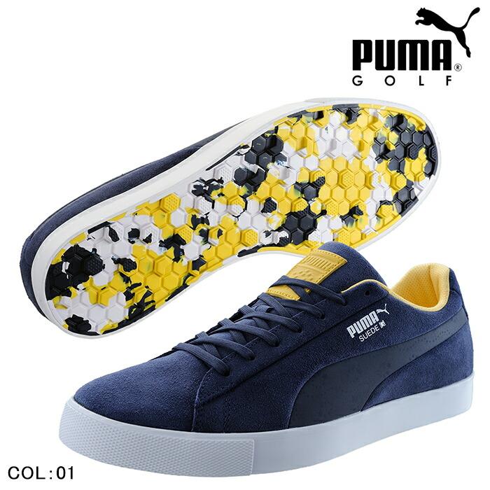 8574e6b5cf7 powergolf  PUMA GOLF Puma golf golf shoes shoes MENS men 191268 NEW ...