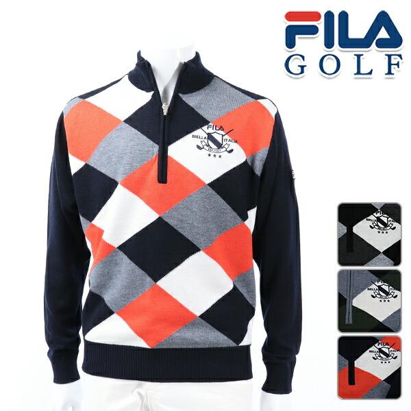 フィラゴルフ メンズ セーター 秋冬 ゴルフウェア