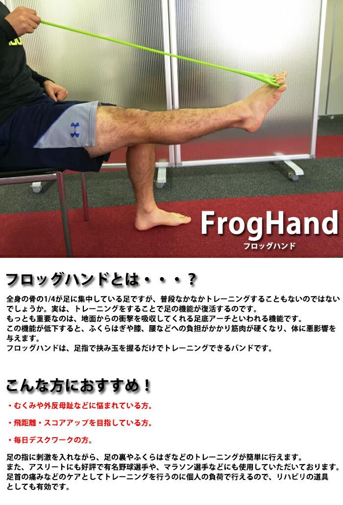 anan voce アンアン ヴォーチェ雑誌掲載 フィットフィンガートレーニング フロッグハンド- フィンガートレーニング フィンガートレーニング