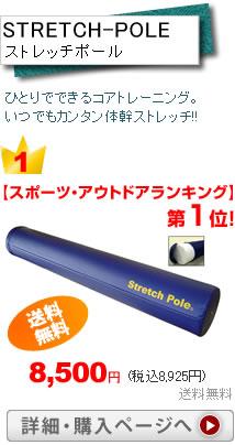 ストレッチポール税込8,925円送料無料