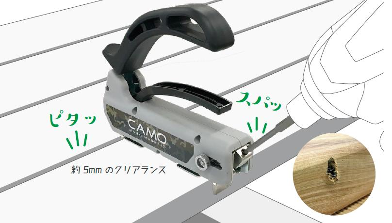CAMO [カモ] ウッドデッキ用施工治具