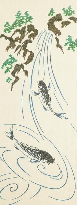 鯉の滝登り