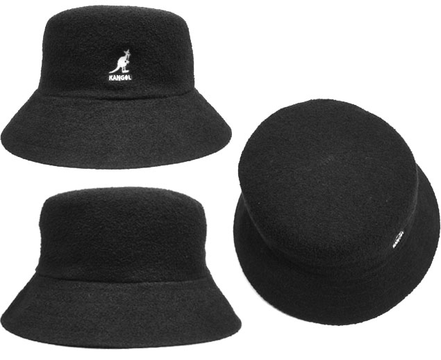 prast-inc  Black bucket hat be76a782512