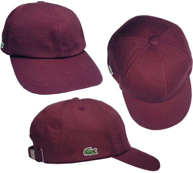 lacoste baseball cap navy black marine