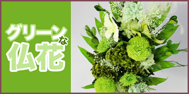 プリザーブドフラワー 仏花 ケイトウ PSYH-0226