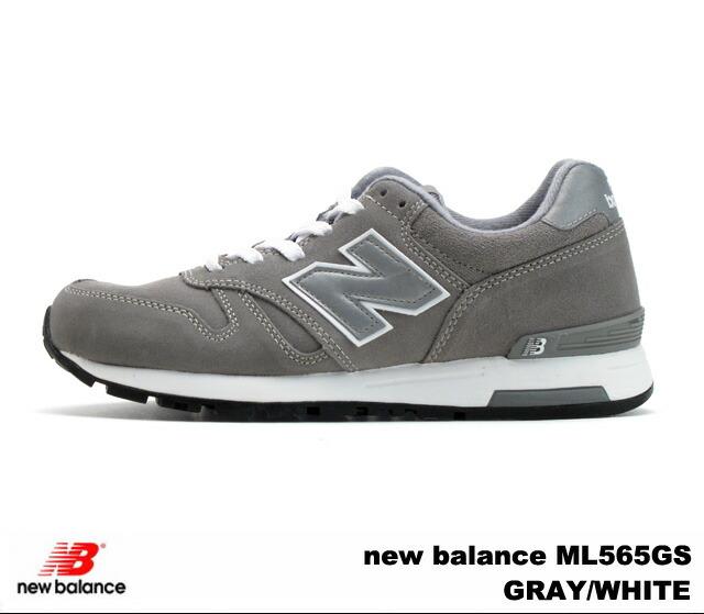 New Balance 565 gray white new balance ML565 GS newbalance ML565GS GRAYWHITE men sneakers