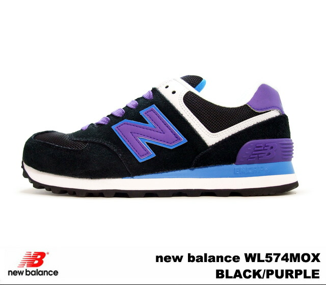 0a66a9a02aeb7 ... inexpensive new balance 574 black purple 20500 6742c