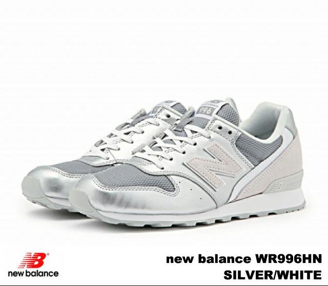 New balance 996 silver white new balance WR996 HN newbalance WR996HN SILVERWHITE women's sneakers