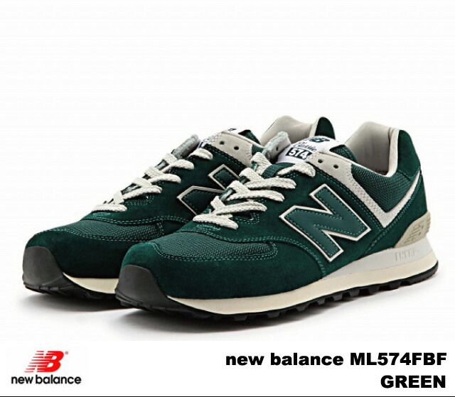 official photos 36ccf ca0b5 PREMIUM ONE: New Balance 574 green new balance ML574 FBF ...