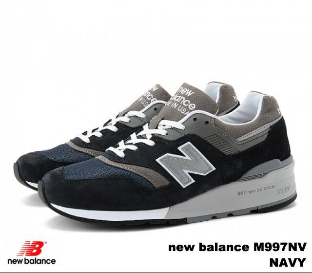 4ad60e9c PREMIUM ONE: New Balance 997 navy red men sneakers new balance M997 ...