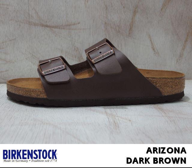 【楽天市場】ビルケンシュトック アリゾナ メンズ レディース サンダル ダークブラウン Birkenstock