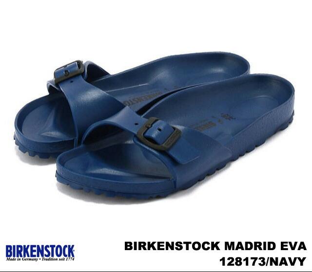 premium one rakuten global market birkenstock madrid eva women 39 s sandals black navy white red. Black Bedroom Furniture Sets. Home Design Ideas