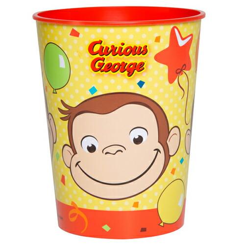 キュリアスジョージ(おさるのジョージ) プラスチックカップ