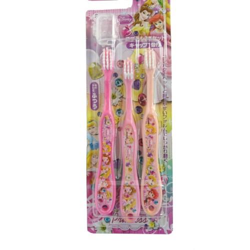 ディズニープリンセス 歯ブラシ3本セット