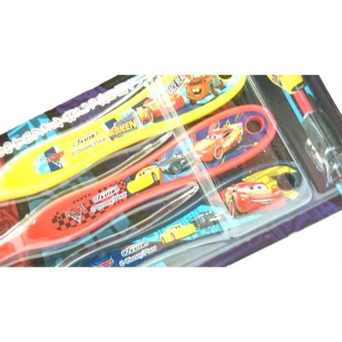 カーズ 歯ブラシ3本セット