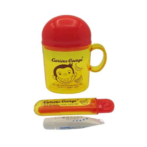 キュリアスジョージ(おさるのジョージ) 歯ブラシセット