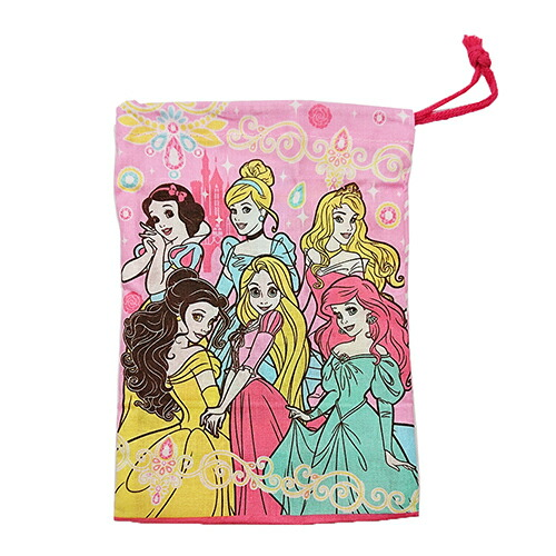 ディズニープリンセス 歯ブラシホルダー付きコップ袋