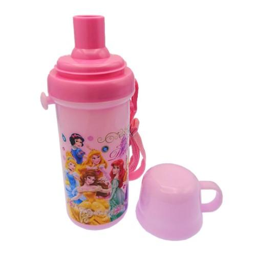 ディズニープリンセス 直飲みコップ付プラ水筒