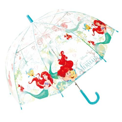 ディズニープリンセスアリエル ビニール傘 55cm