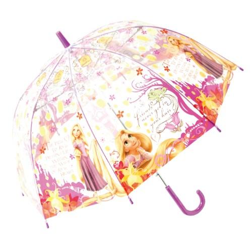 ディズニープリンセスラプンツェル ビニール傘 55cm