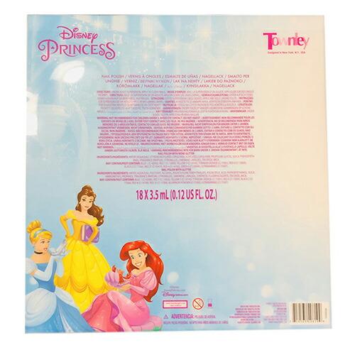 ディズニープリンセス 8pcキッズマニキュアボックス