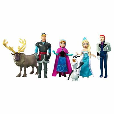 アナと雪の女王 フィギュアセット