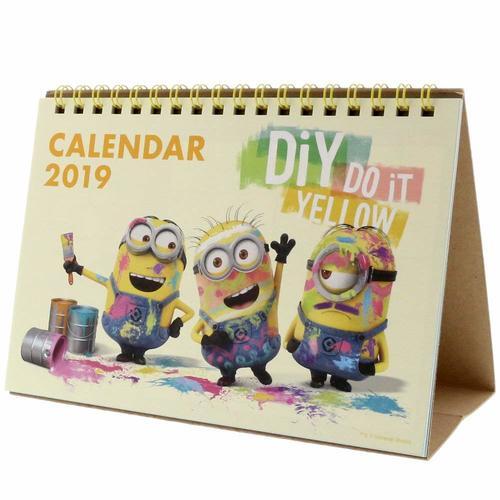ミニオンズ Minions デスクカレンダー 2019年