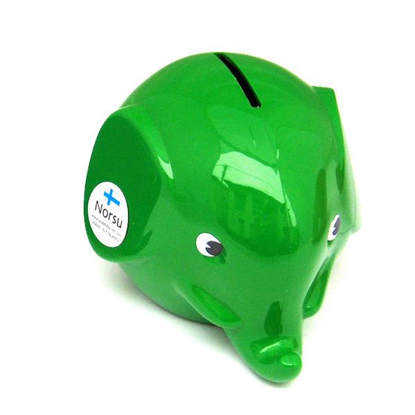 Norsu  (エレファント貯金箱)グリーン
