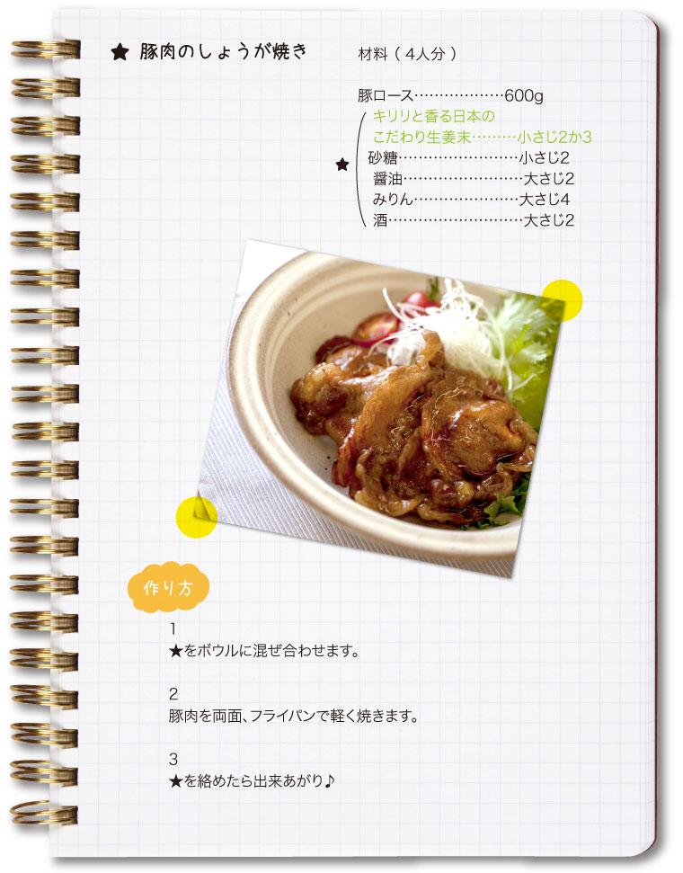 キリリイメージレシピ2
