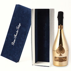 【ベルベット高級化粧箱入】【贈答】アルマン ド ブリニャック シャンパーニュ ブリュット ゴールド ギフト 泡 白 辛口 シャンパン ワイン 750ml