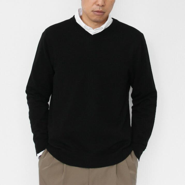 メンズVネックセーター