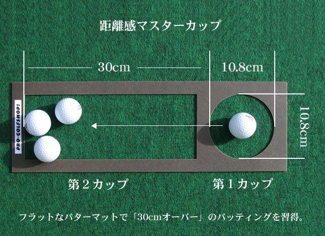 ゴルフ練習器具・距離感マスターカップ設計図面