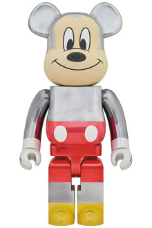 BE@RBRICK fragmentdesign MICKEY MOUSE COLOR Ver.1000%