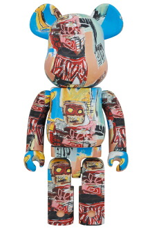 BE@RBRICK JEAN-MICHEL BASQUIAT #6 1000%