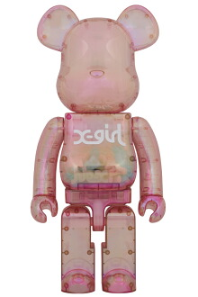 BE@RBRICK X-girl 2020 1000%
