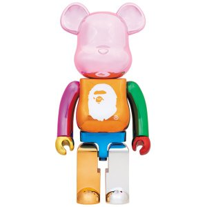 A BATHING APE(R) 25th ANNIV. MULTI COLOR BE@RBRICK 1000%