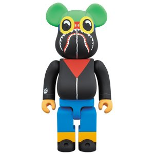 A BATHING APE(R) × HEBRU BRANTLEY × SOCIAL STATUS BE@RBRICK 400%