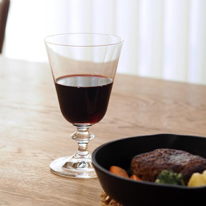 ボヘミアクリスタル プロヴァンス ワイングラス 260ml レッド